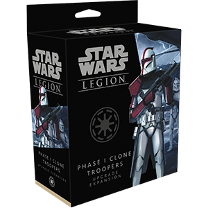 STAR WARS  LEGION: Phase 1 Clone Troopers Upgrad - Linebreakers