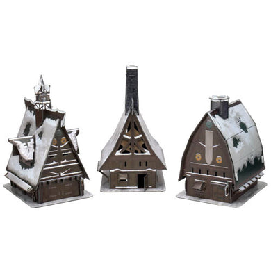 D&D Papercraft Set: Icewind Dale - Ten Towns