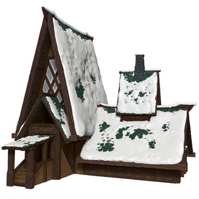 D&D Papercraft Set: Icewind Dale - The Lodge