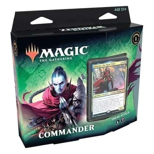 Magic: The Gathering Zendikar Rising Commander Deck - Sneak Attack - Linebreakers
