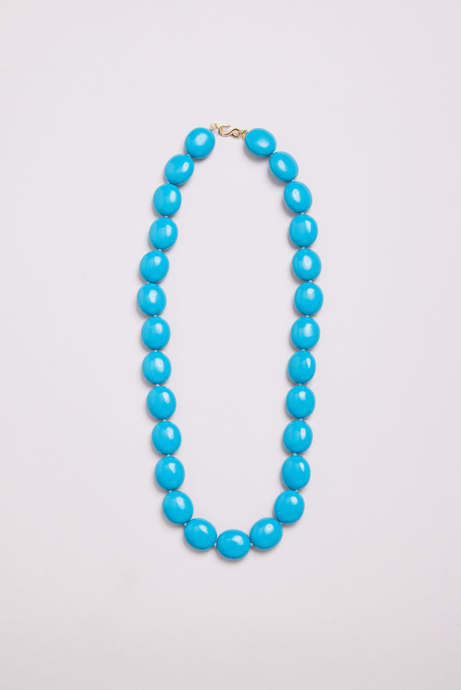 KJL TURQUOISE BEADED NECKLACE
