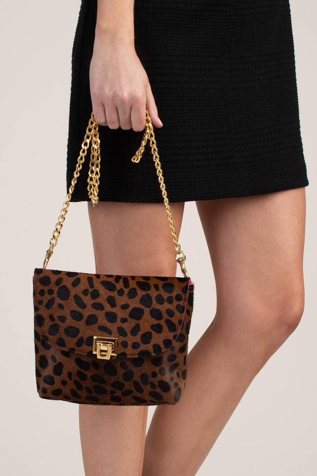 AVION LEOPARD CROSSBODY
