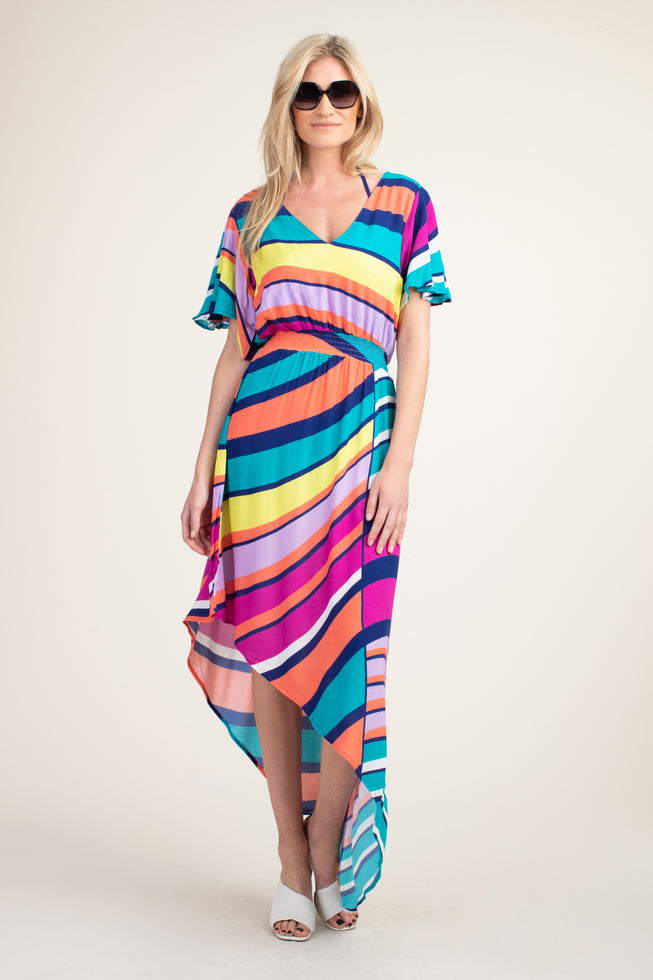 CATCH A WAVE MAXI DRESS