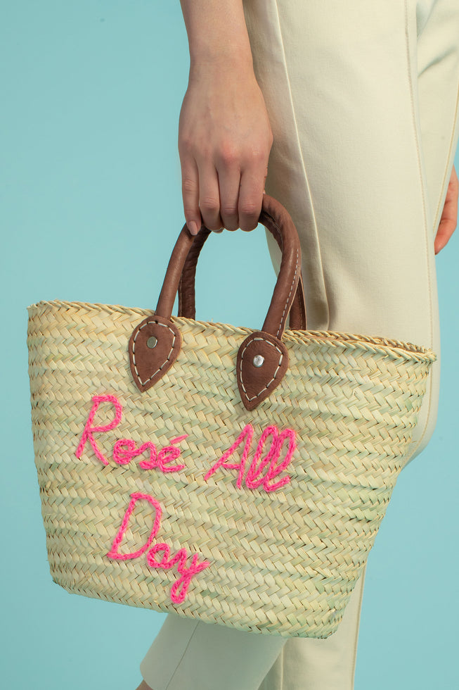 LE SUPERETTE ROSE ALL DAY TOTE