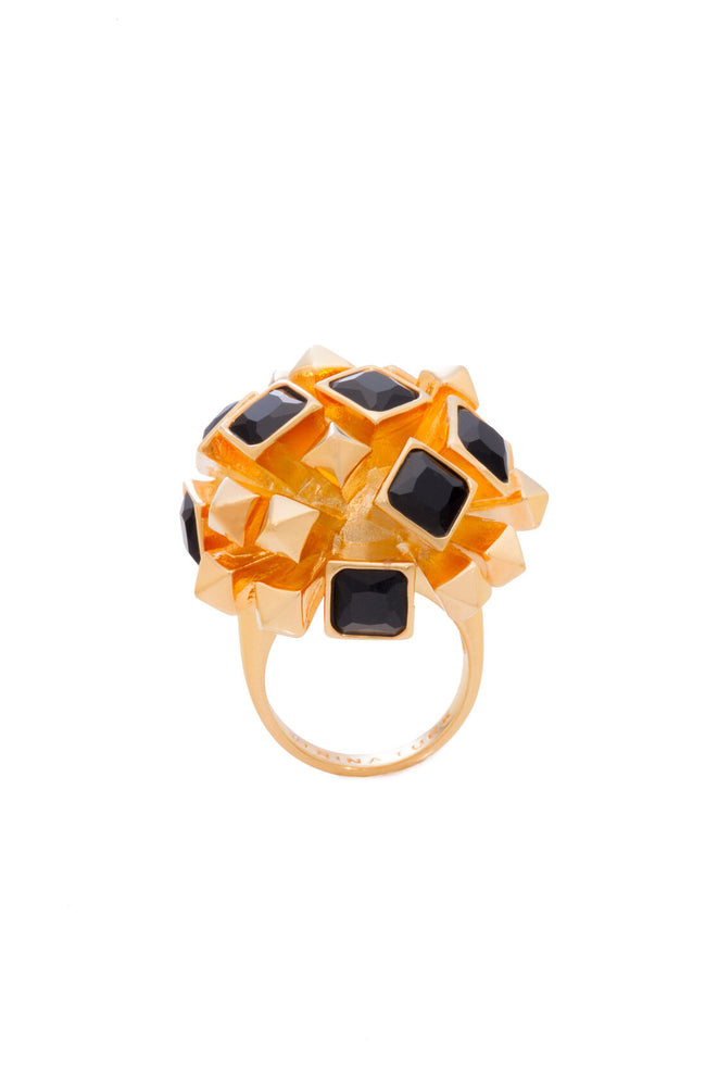 STARBURST COCKTAIL RING
