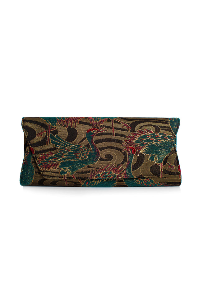 CROWNED HERON CLUTCH