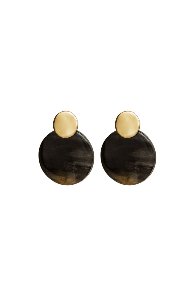 MIX COIN CONTRAST STUDS