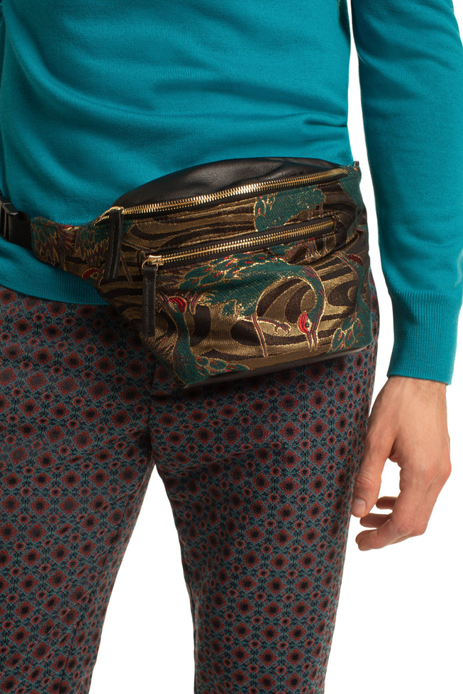 CROWNED HERON BELT BAG