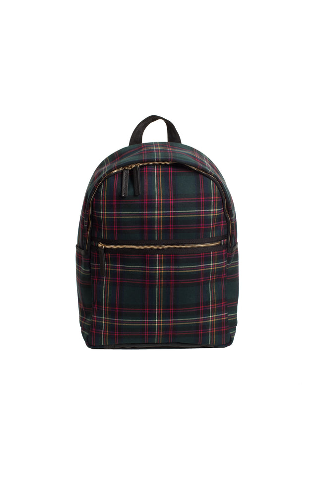 HOT TODDY PLAID BACKPACK