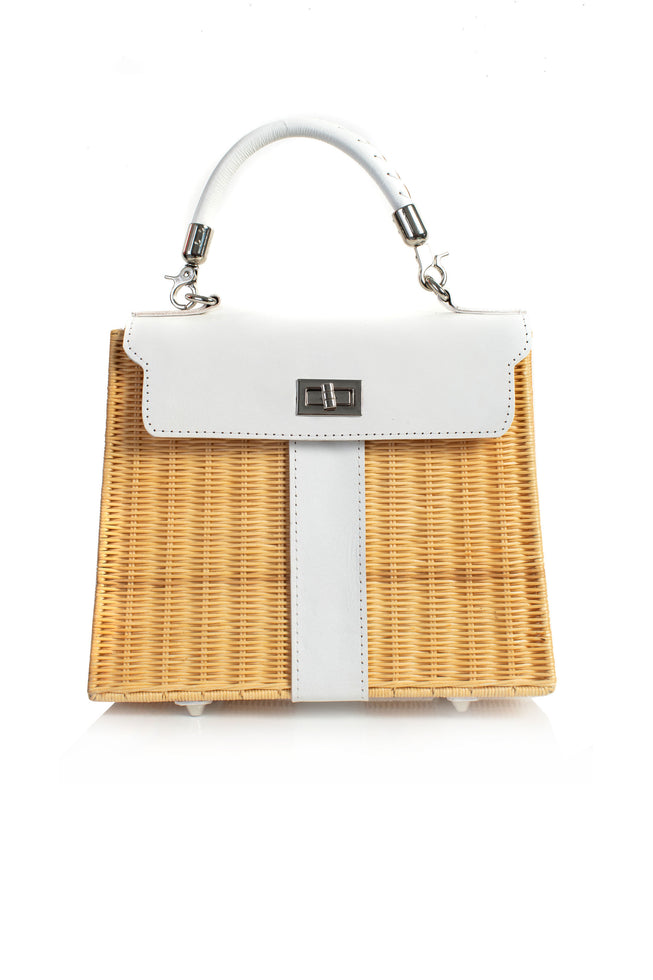 BISCAYNE WICKER BAG