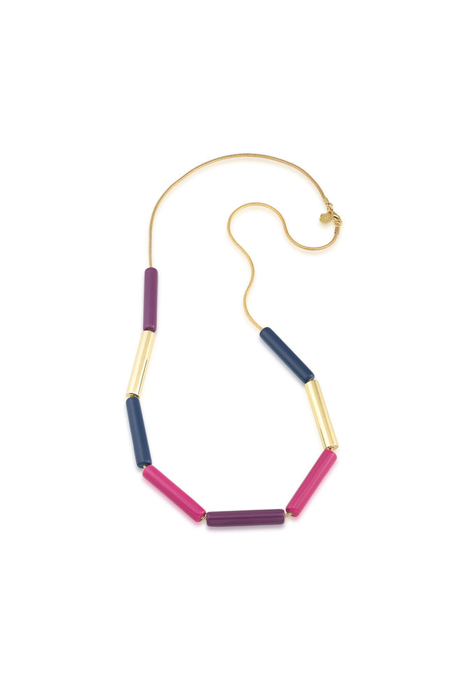COLOR TUBE NECKLACE