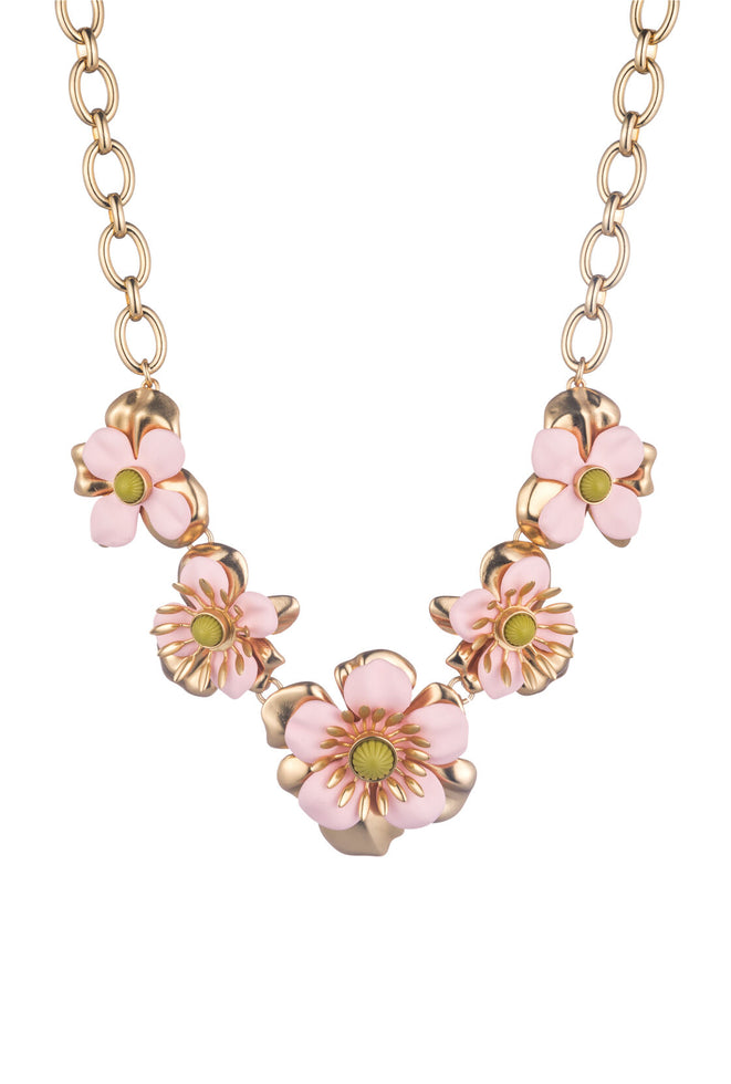 SUPER BLOOM FLOWER NECKLACE
