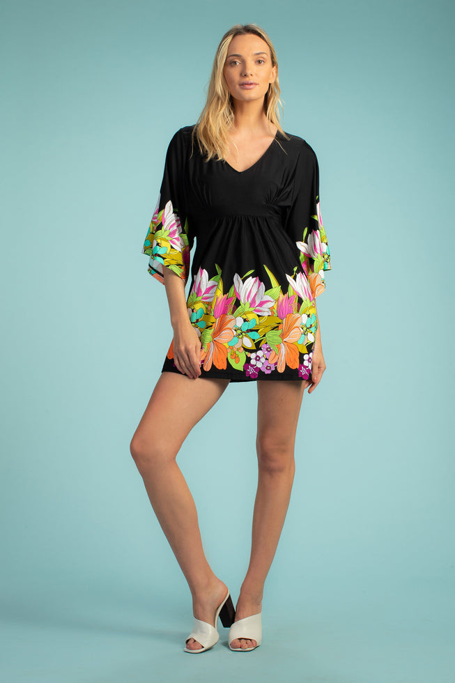BOUQUET FLORAL TUNIC