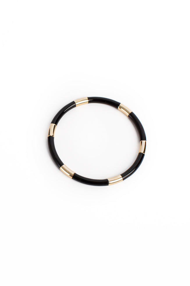 LACQUER 14K GOLD BANGLE