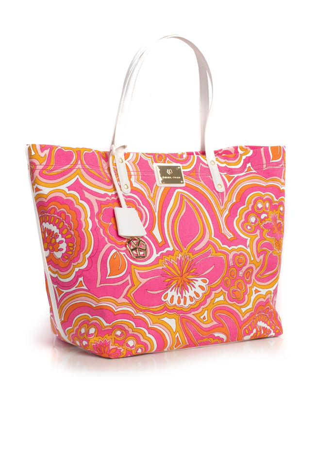 MORNING SUNRISE CANVAS TOTE