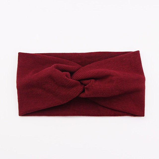 Of The Story Headband - Burgundy