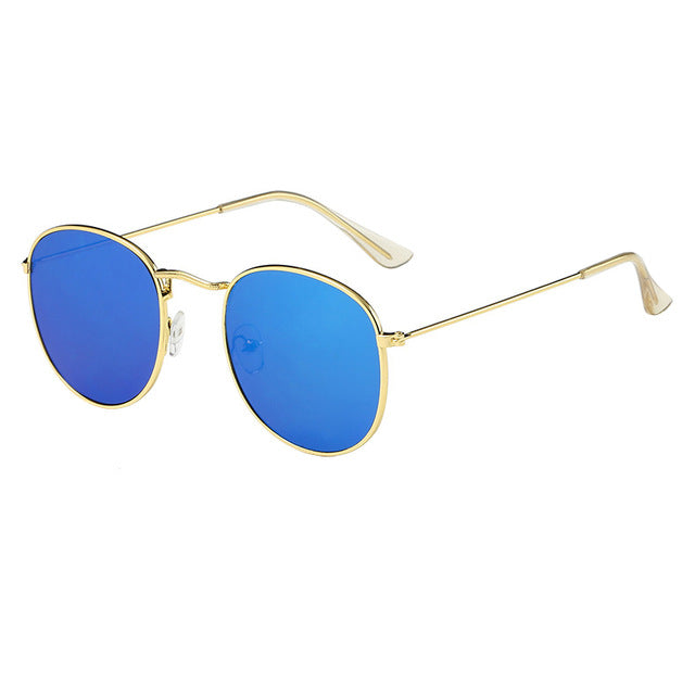 Carl Fitow Vintage Round Sunglasses for Women UV400 Protection - Fashpirit