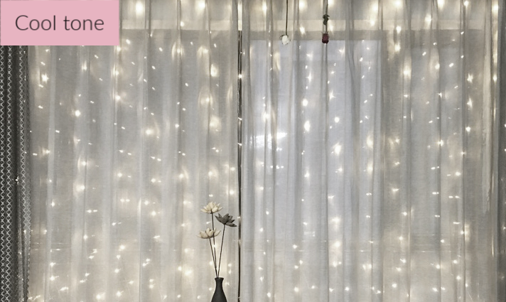 Fairy Light Curtains - Plug-in String Lights for Instagram