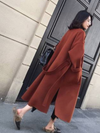 """Gianna"" Long Wool Coat"