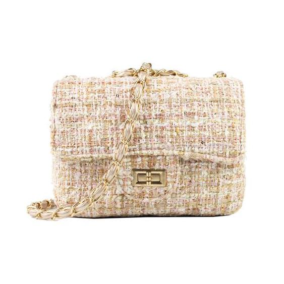 Miss Golightly tweed bag