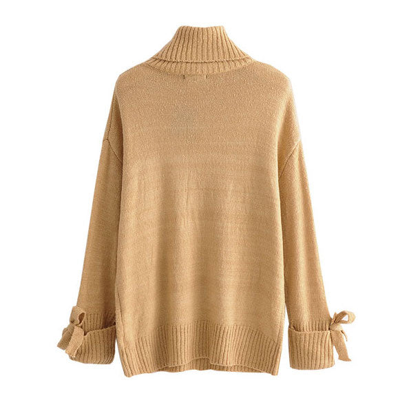"""Rachel"" Ribbon Sleeve Sweater"