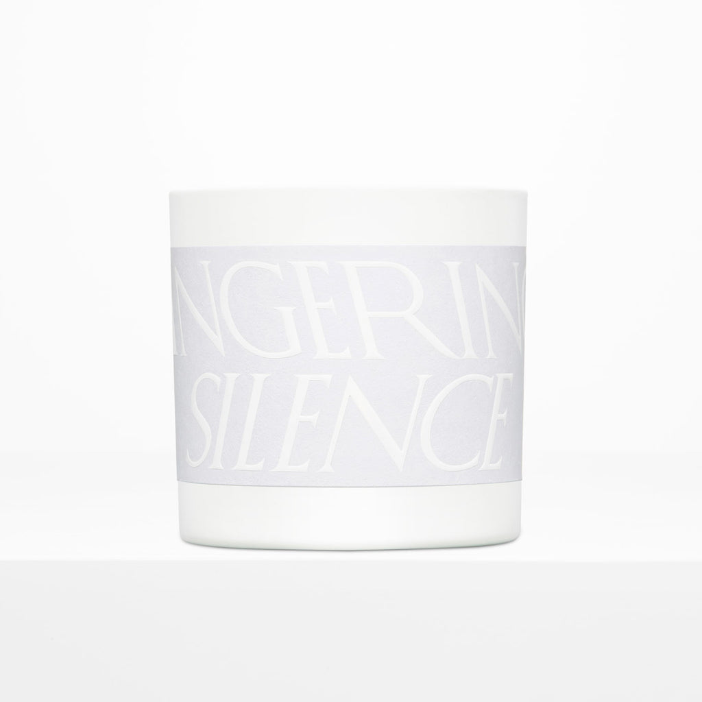 LINGERING SILENCE SCENTED CANDLE