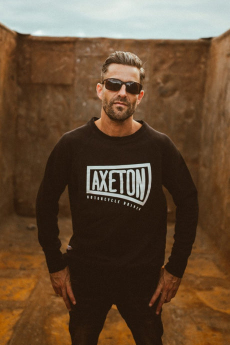 BLADE CREWNECK SWEATER BLACK