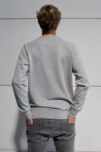 AXES CREWNECK SWEATER GREY
