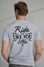 "IRON BLACK ""RIDE IT"" TEE GREY"