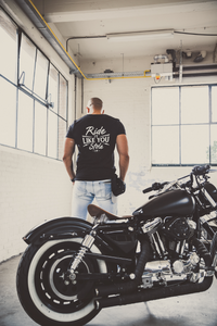 "IRON BLACK ""RIDE IT"" TEE BLACK"