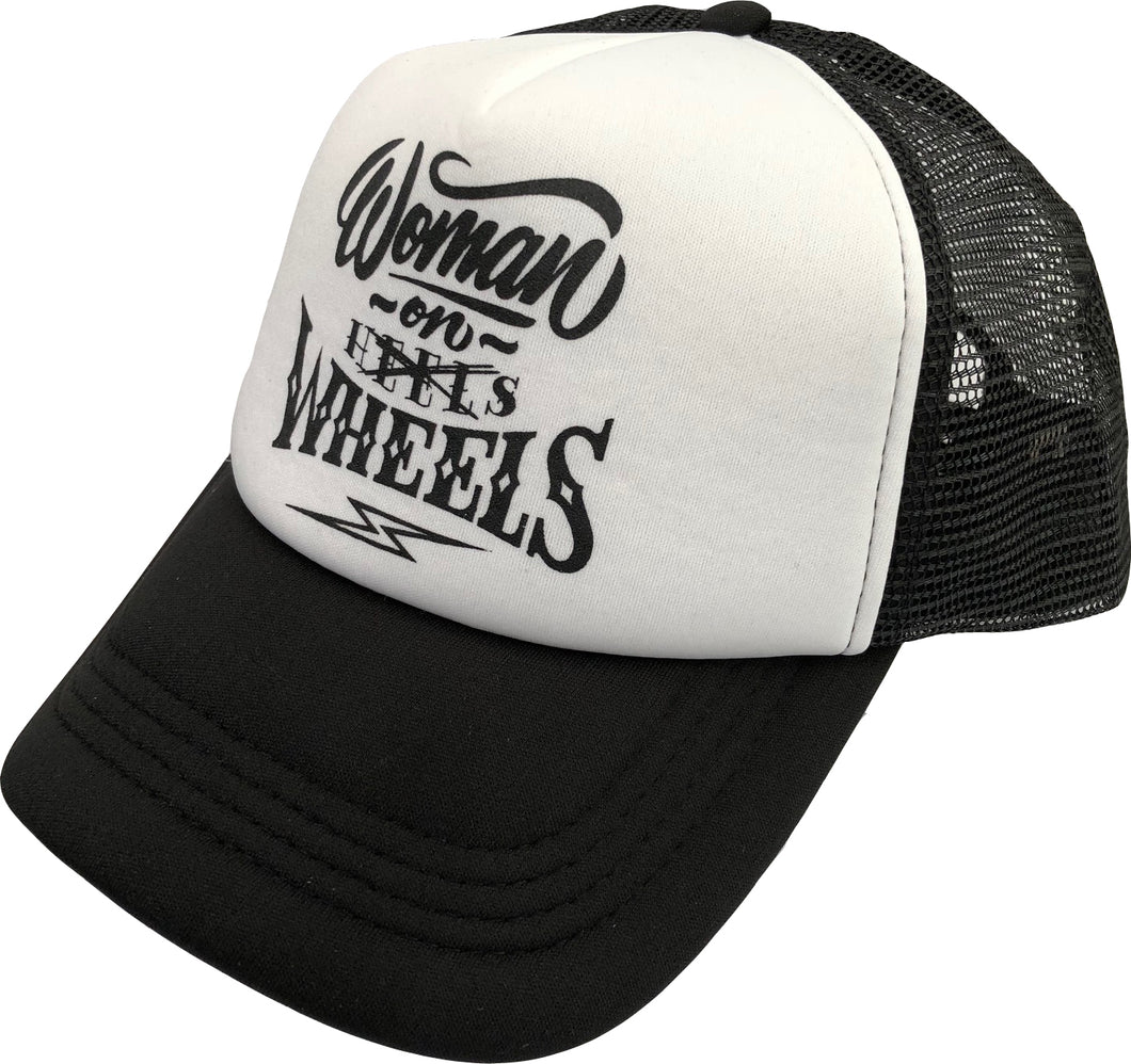 WOMEN ON WHEELS LOGO CAP