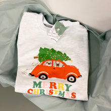 """Driving Home"" Merry Christmas - Sweatshirt"