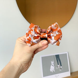 Walk + Wear | Bow - Orange Camo