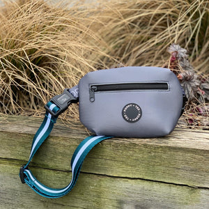 The Treat Pouch (extra strap ONLY) - Essentials Teal Stripe