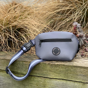 The Treat Pouch (extra strap ONLY) - Essentials Grey Stripe