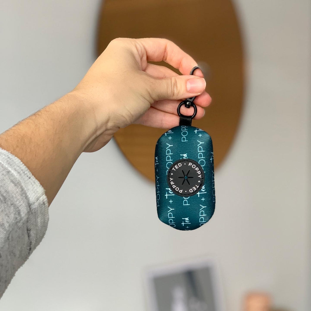 Essentials Collection | Poop Bag Holder - Teal