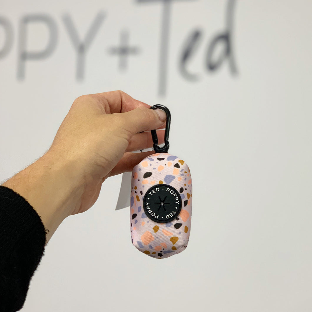 Walk + Wear | Poop Bag Holder - Totally Terrazzo