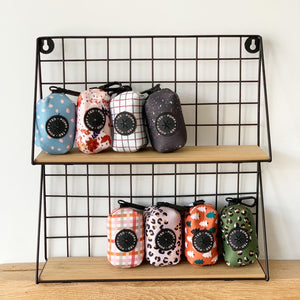 Walk + Wear | Poop Bag Holder - Stone Leopard