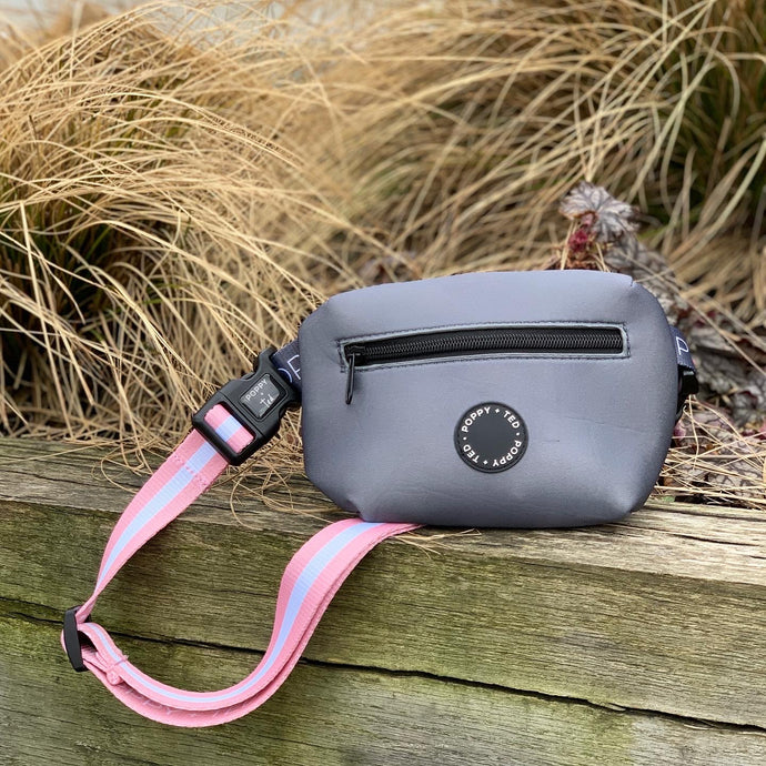 The Treat Pouch (extra strap ONLY) - Essentials Peach Stripe