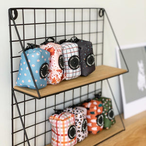 Walk + Wear | Poop Bag Holder - Sweet as Lattice Pie