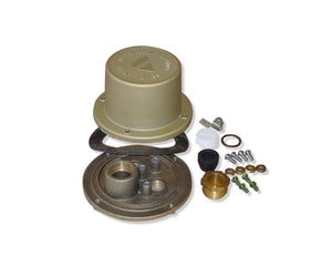 Afras Junction Box Cast Brass