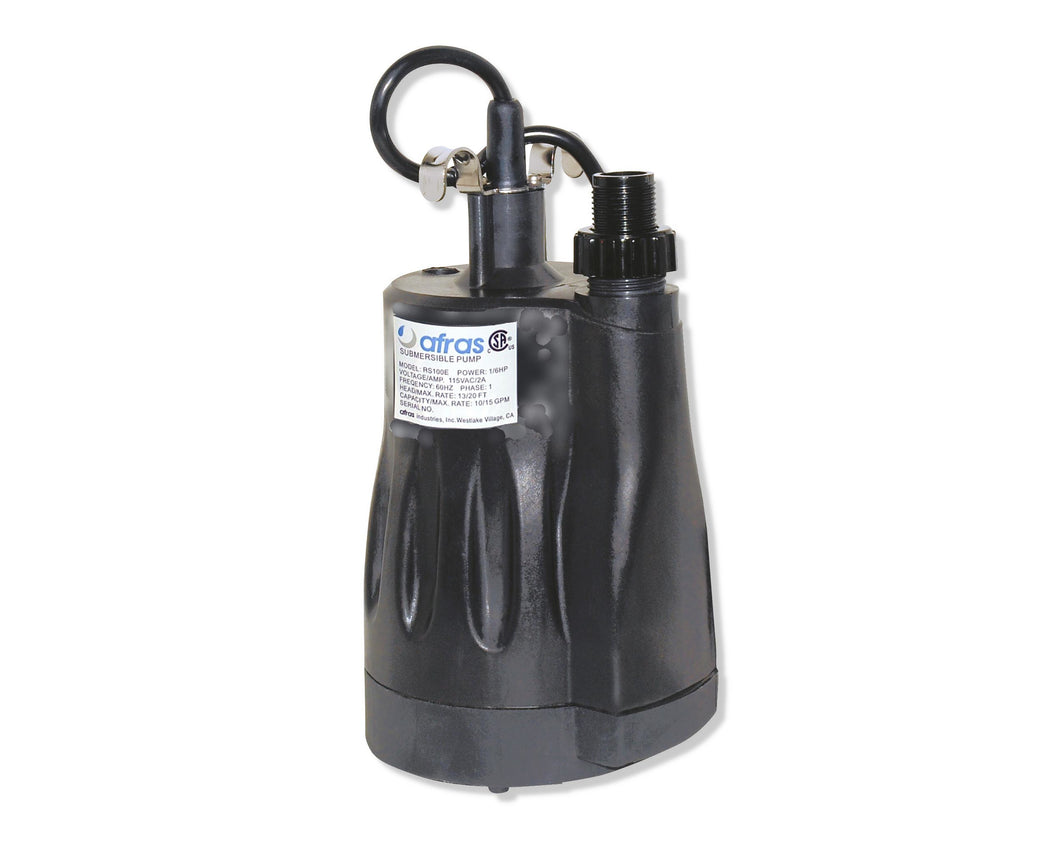Afras RS100 1/6HP Submersible Pool Pump