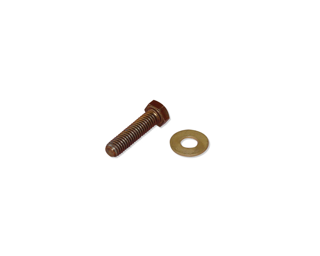 Bolt and Washer for Afras Brass Wedge Anchor With Integral Flange