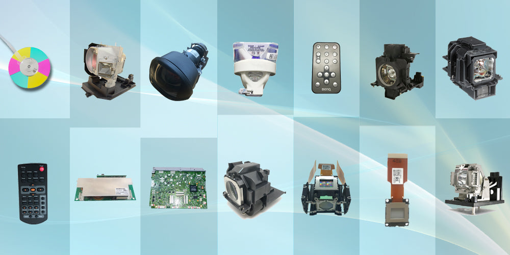 Projector lamp supplier from China selling projector parts color wheel, lcd panel, dmd chip, bulbs in cheap price