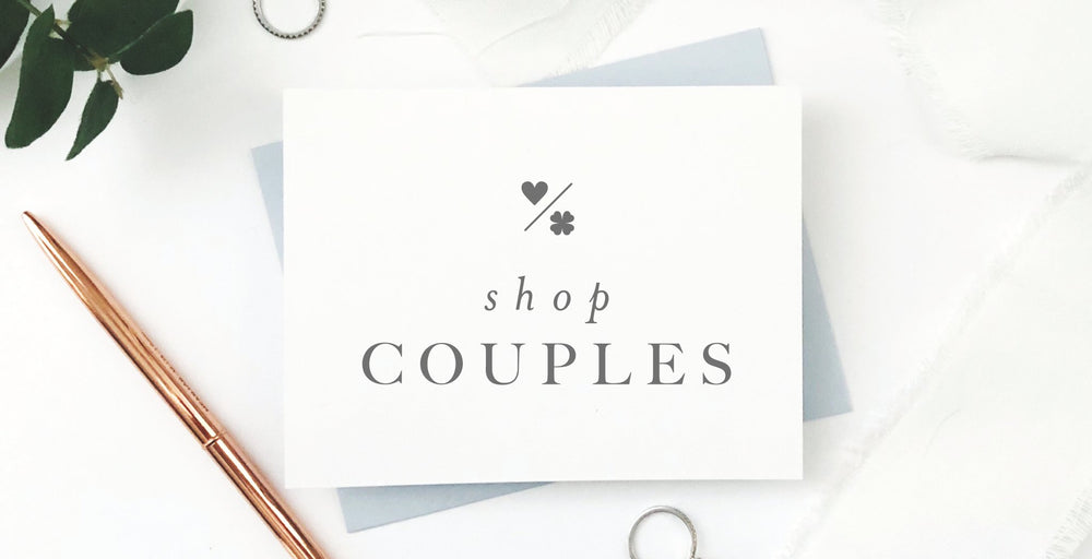 Couples Stationery