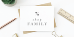 Family Stationery