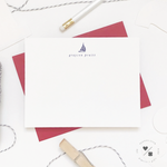 sailboat boys stationary