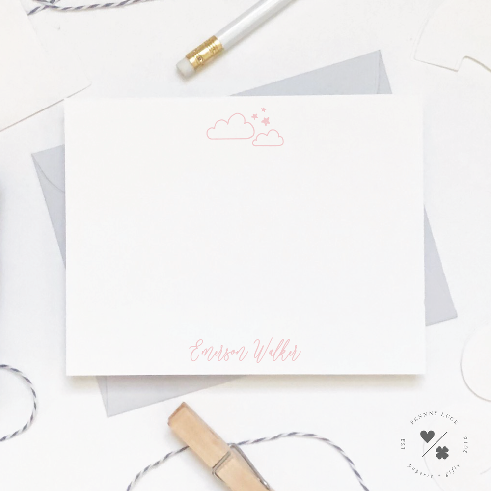 lullaby stationery for kids