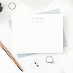 stationery sets personalized for newlyweds and couples