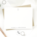 boxed stationery sets for personalized wedding gifts